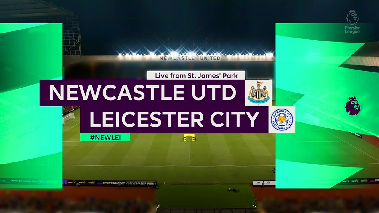 ⚽ Newcastle United vs Leicester City ⚽ | Premier League (03/01/2021) | Fifa  21 - YouTube