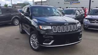 2018 Jeep Grand Cherokee Summit | SCD3744 | Crosstown Chrysler Jeep Dodge | Edmonton AB