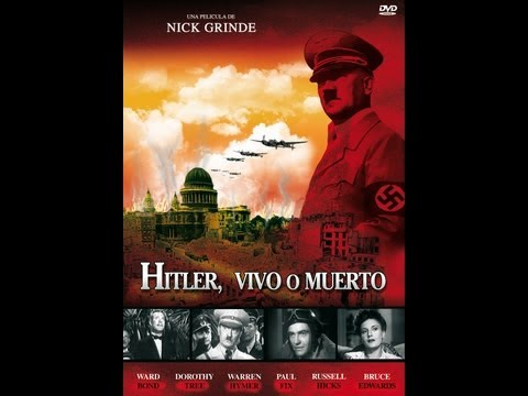 HITLER VIVO O MUERTO (HITLER, DEAD OR ALIVE, 1942, Full movie, Spanish, Cinetel)