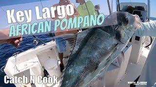 African Pompano Fishing in Key Largo {Bonus Catch N Cook}