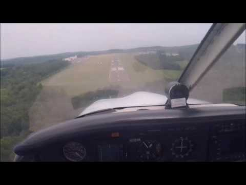 IFR: HPN to OXC || VFR: OXC to POU || IFR: POU to HPN