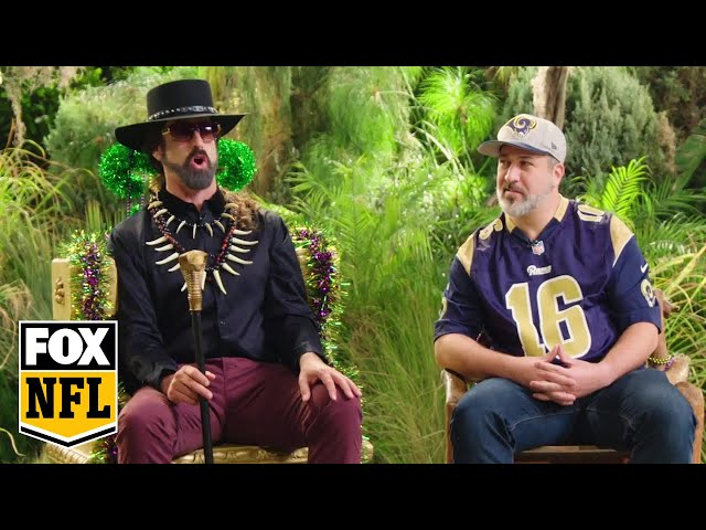 Joey Fatone joins Rob Riggle on Bayou and Me | RIGGLE'S PICKS | FOX NFL
