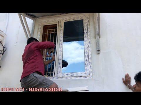 UPVC Windows Installation | Sliding Windows |AURA UPVC Windows & Doors