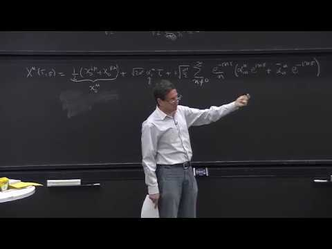 Lecture 12 Quantization of a closed string; Virasoro operators, graviton, dilaton