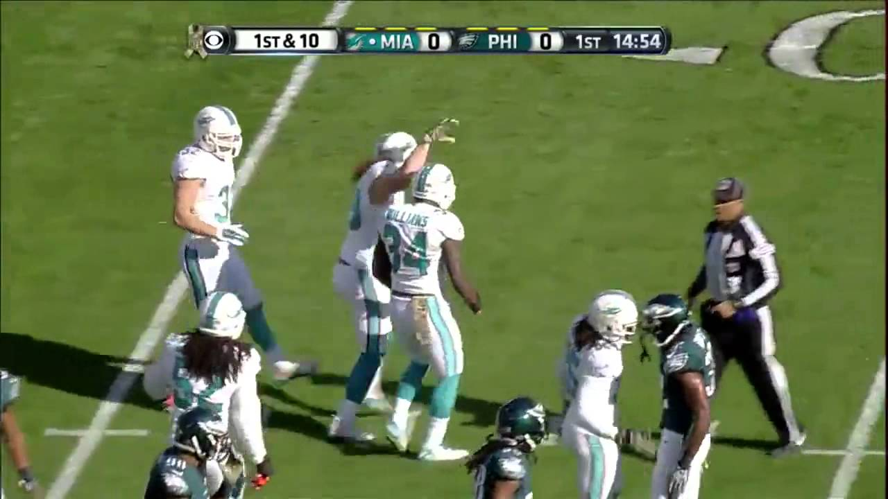 Miami Dolphins Vs Philadelphia Eagles 15 Nov 2015 Full