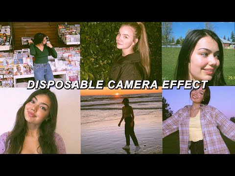 Disposable Camera Effect-