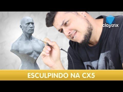 Modelando Em Cera (CX5)   Claytrix (T03E02)