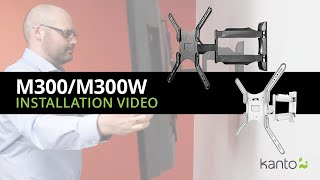 M300 TV Mount Installation Guide | Kanto Mounts