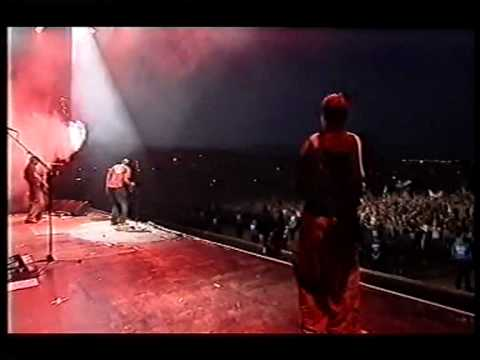 """Faithless LIVE - """"We Come 1"""" - (stereo) at Glastonbury, '02"""