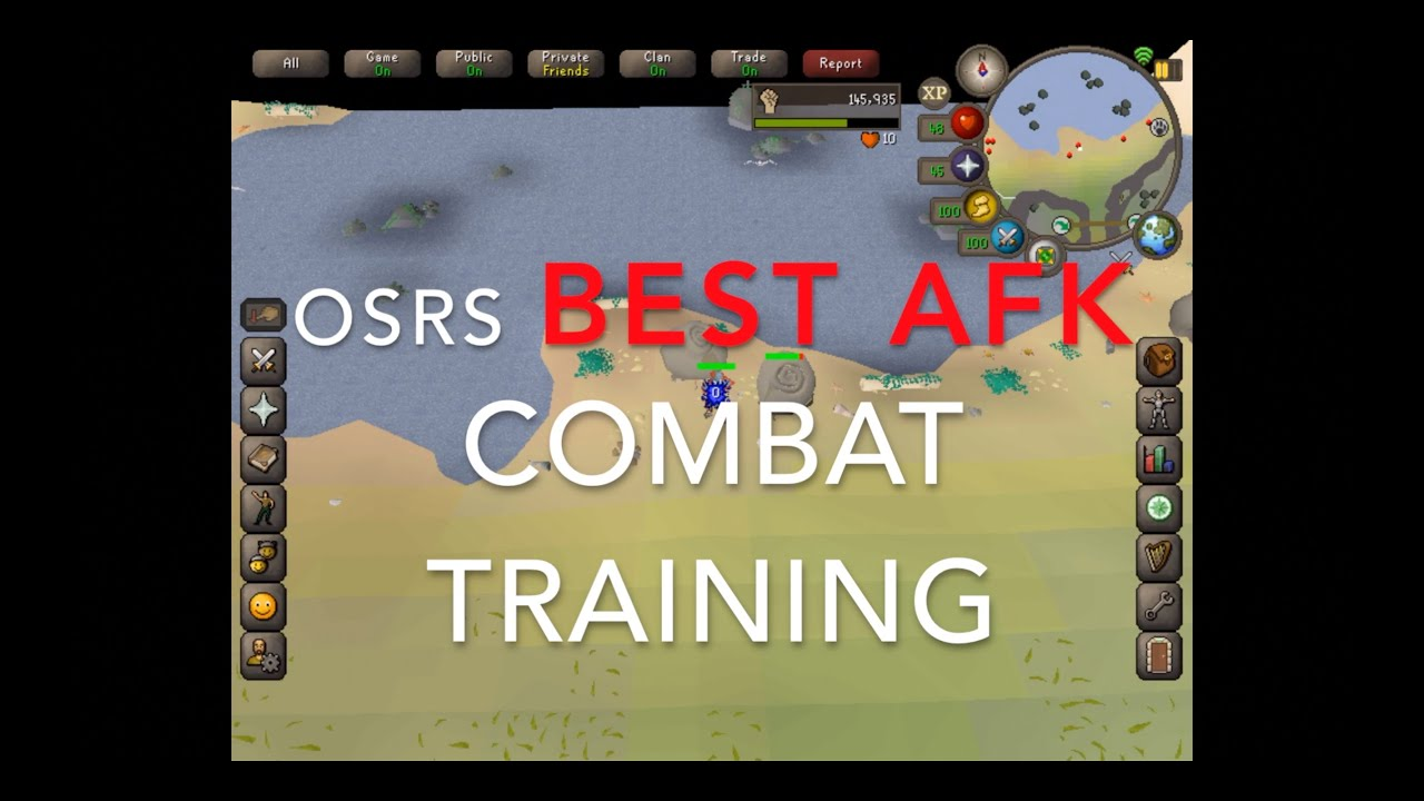 Osrs Best Afk Combat Training Spot Youtube