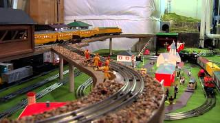 Download Jerry's Lionel Train Set-Up MP3 song and Music Video