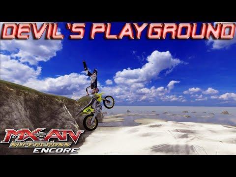 The Devil's Playground Freeride | MX vs. ATV Supercross Encore Edition Free Ride Gameplay