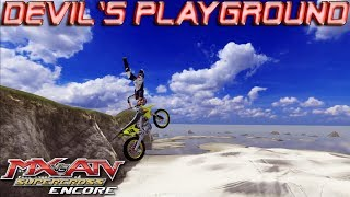 The Devil's Playground Freeride | MX vs. ATV Supercross Encore Edition Free Ride Gameplay