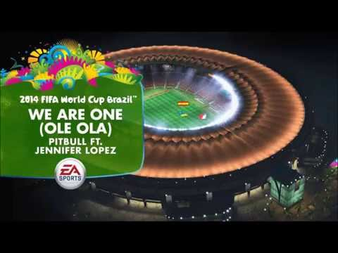 Pitbull & Jennifer Lopez - We Are One (Ole Ola) [2014 Fifa World Cup Song] + Lyrics and download
