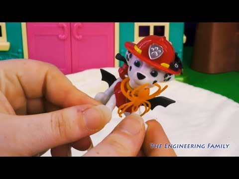 Paw Patrol What is Inside the Spooky Burrito Transformation with Frozen and Puppy Dog Pals