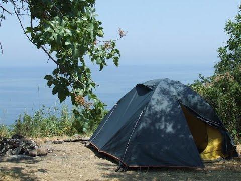 Отдых с палатками на Рыбинском море!