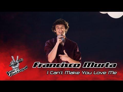 Francisco Murta - I Can't Make You Love Me (Bon Iver) | Gala | The Voice Portugal