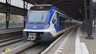 Vertrek SNG 2315 en 2711 van Station Haarlem | Ultra HD (4K)