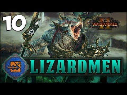 SKAVEN UNDER SIEGE! Total War: Warhammer 2 - Lizardmen Campaign - Kroq-Gar #10