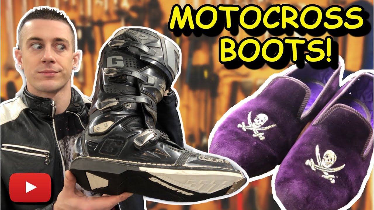 Multi Job Bonanza! | Motocross Boots | Pirate Slippers | Timberland Boots