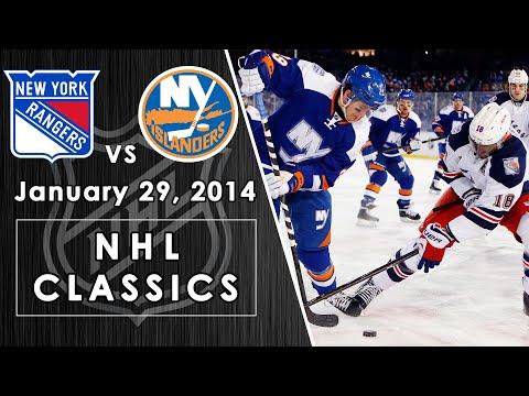 NHL Classics: New York Rangers Vs. New York Islanders | 01/29/2014 | NBC Sports
