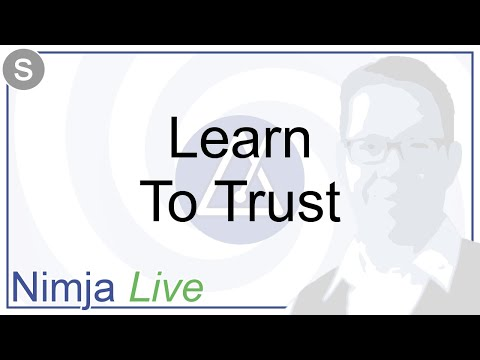 Hypnosis - Learn To Trust - Nimja Live - September 2017