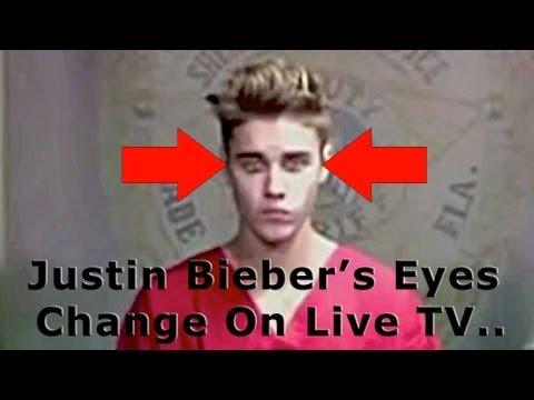Justin Bieber - The Deceiver - His Eyes Change on Live TV