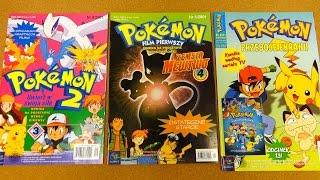 Pokemon 1 & 2 Movie Comic Book Adaptation + TV Series Comics Collection