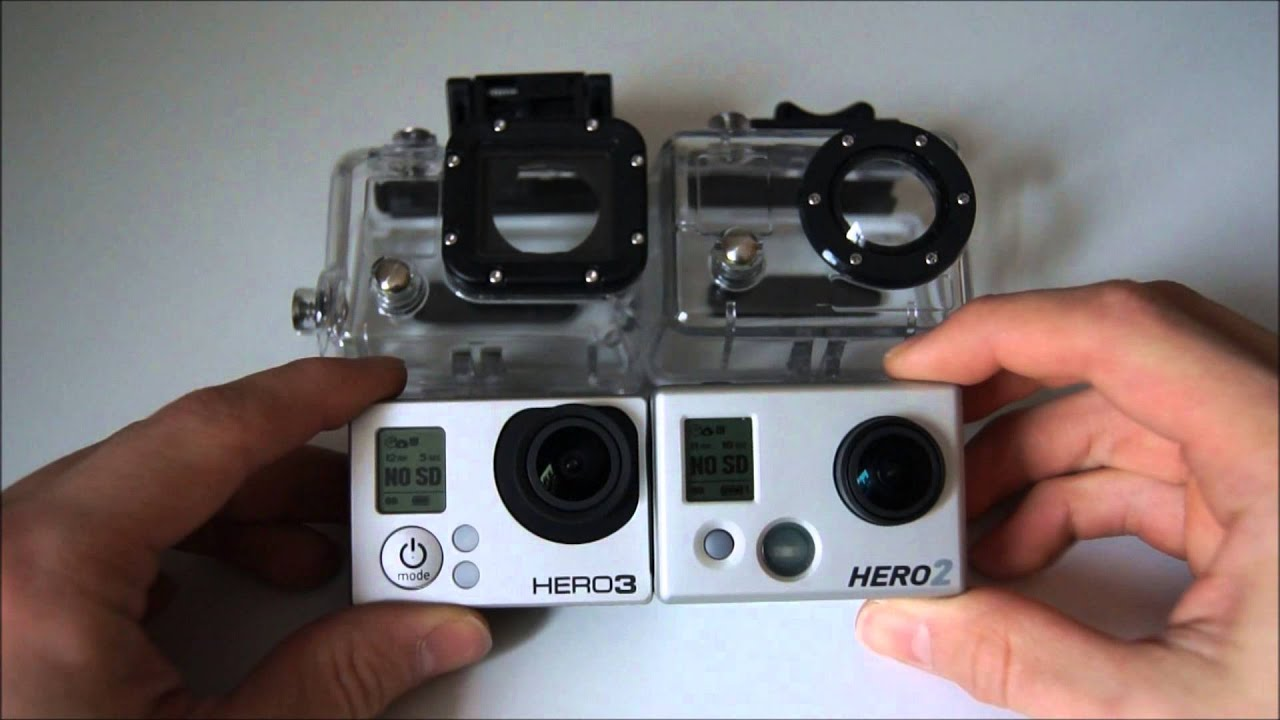 gopro hero 3 vs gopro hero 2 vs gopro hero 3 deutsch youtube. Black Bedroom Furniture Sets. Home Design Ideas