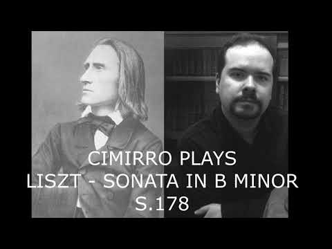 Liszt Sonata in b minor (Artur Cimirro)