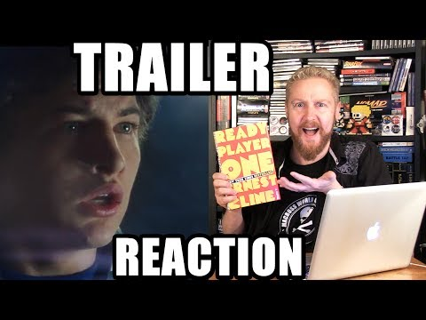 READY PLAYER ONE TRAILER REACTION - Happy Console Gamer