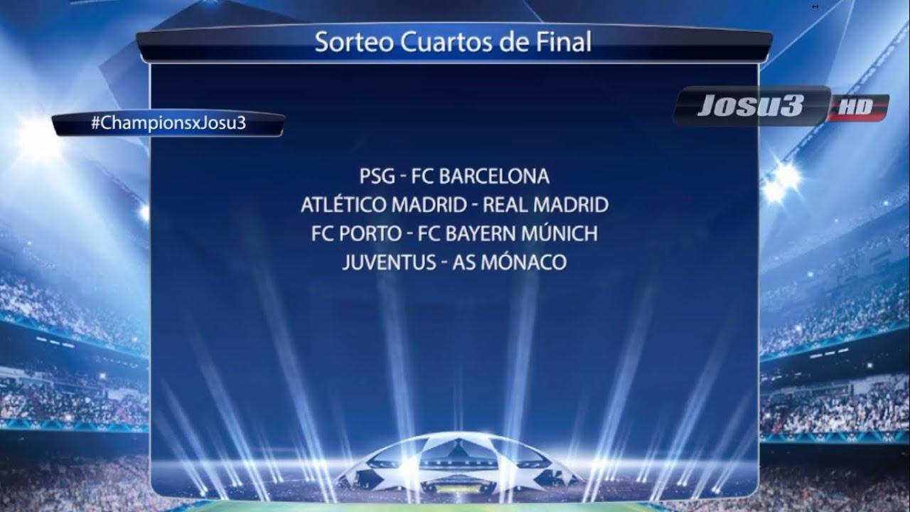 Cuartos de Final UEFA Champions League 2015 - YouTube