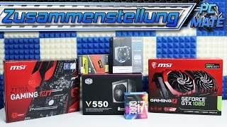 gaming pc selber bauen video. Black Bedroom Furniture Sets. Home Design Ideas