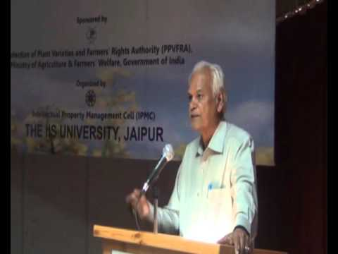 Seminar on Protection of Plant Variety and Farmers' Right: part 3