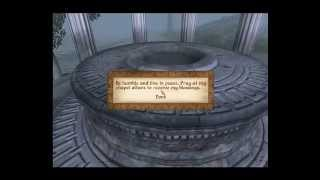 """TES IV Oblivion Let's Play EP8: """"Now dats a wayshrine"""""""