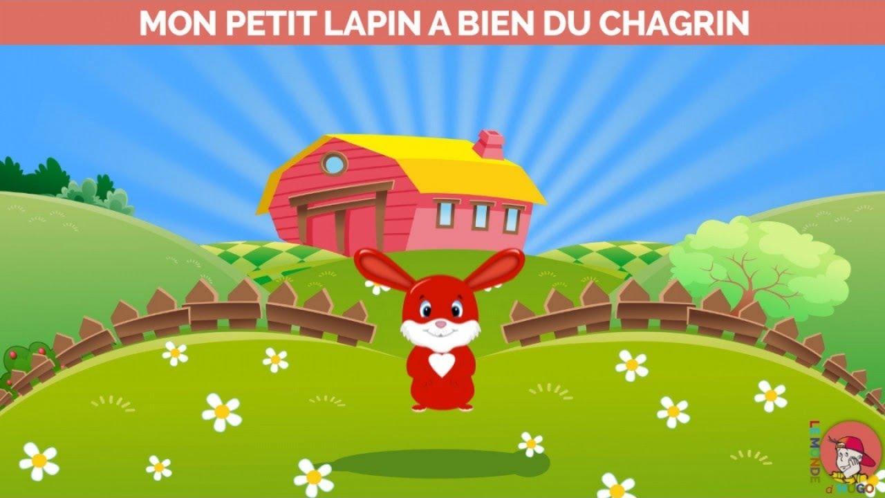 Le Monde D Hugo Mon Petit Lapin A Bien Du Chagrin Youtube