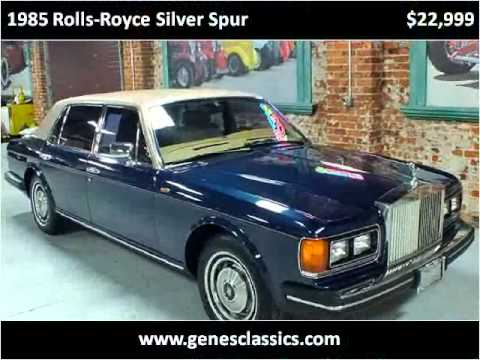 1985 Rolls-Royce Silver Spur Used Cars Paulsboro NJ - YouTube