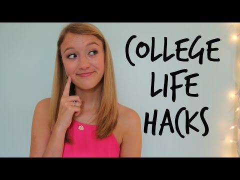 Dorm Room Life Hacks: Space-Saving & Organization Tips!