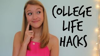 Dorm Room Life Hacks: Space-Saving & Organization Tips!