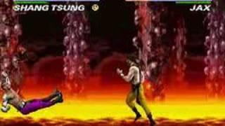 TAS Ultimate Mortal Kombat 3 SNES in 10:20 by Dark Fulgore