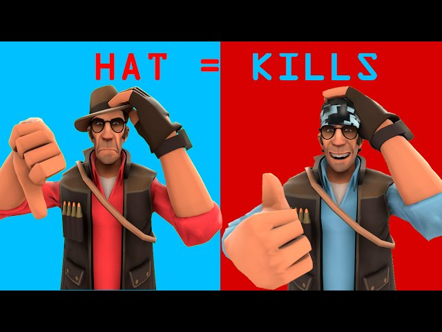 Team Fortress 2 - Sniper, Chapéu e Killstreak