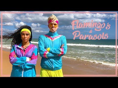 Stefan & Moïse - Flamingo's & Parasols