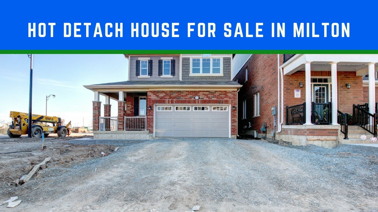 Hot Houses For Sale Hot Detach House For Sale In Milton Milton Under 5 Years Detach Houses For Sale