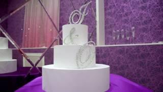Топпер-инициалы в стразах для свадебного торта https://vk.com/club53829666