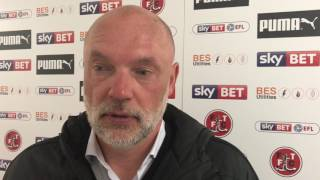 Uwe Rosler on Port Vale draw | Post Match