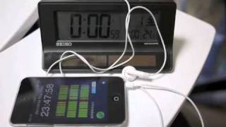 JJY Simulator: Syncronize Radiowave Clock using iPhone