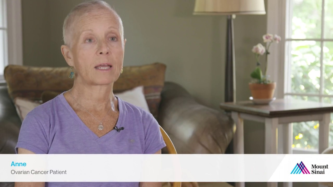 Ovarian Cancer Patient Shares Her Story - Mount Sinai Chelsea