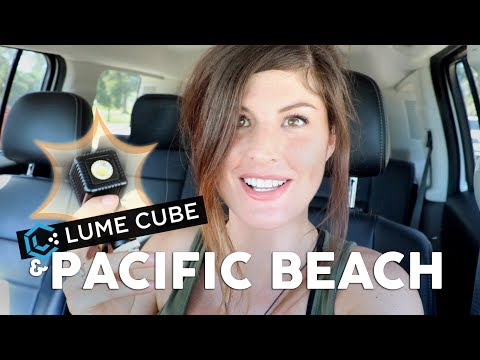 VISITING LUME CUBE // SAN DIEGO VLOG IN PACIFIC BEACH