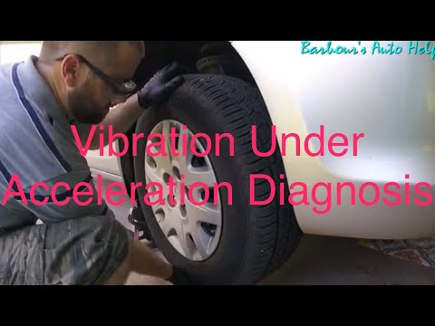 Vibration Under Acceleration Diagnosis