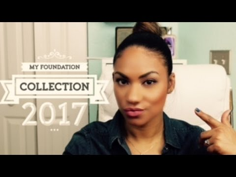My Foundation Collection | Reviews & Finishes 2017